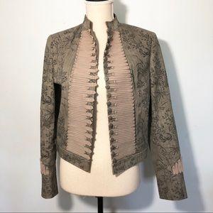 Vintage '90s Steampunk Military Style Jacket